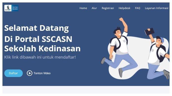 Halaman website dikdin.bkn.go.id. Sekolah Kedinasan PKN STAN 2021 Segera Dibuka, Simak Dokumen yang Disiapkan dan Alur Pendaftarannya.