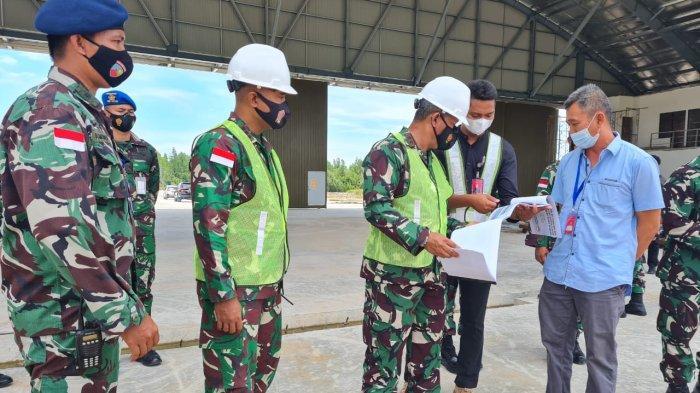 Kedatangan Pangkoopsau II di Lanud Anang Busra Kota Tarakan