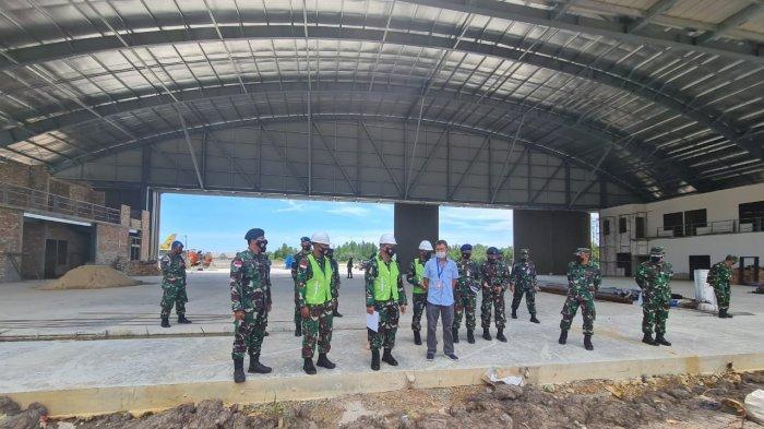 Pembangunan Hanggar PTTA di Lanud Anang Busra Tarakan Capai 70 Persen, Ini Pesan Pangkoopsau II