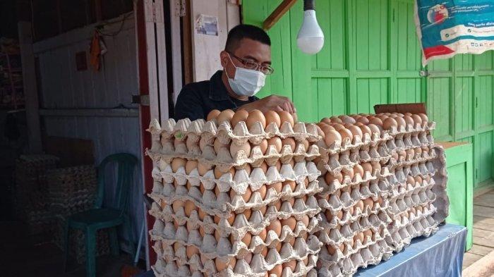 Sambut Ramadan, Siap-siap Harga Telur Bakal Naik di Pasar Induk Tana Tidung, Daging Ayam Potong?