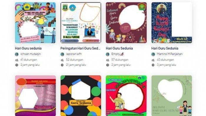30 Link Twibbon Hari Guru Sedunia atau World Teacher's Day, Buat Ucapan dan Bagikan di Media Sosial