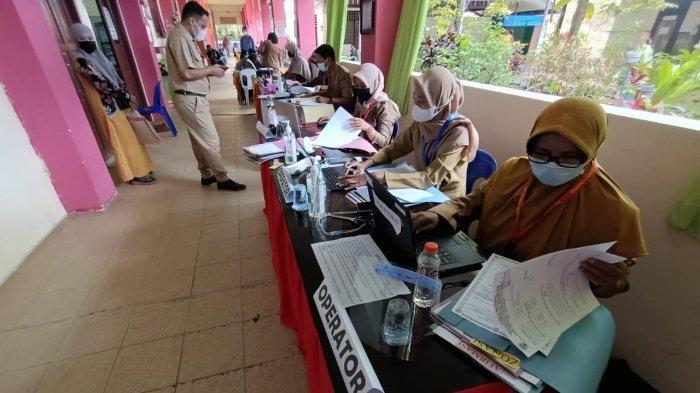 Hari Pertama Pendaftaran PPDB SMPN 7 Didominasi Daftar Offline, Siswa Langsung Datang ke Sekolah