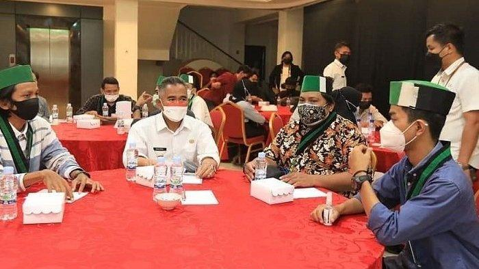 Wali Kota Tarakan dr Khairul MKes menghadiri Dialo Merdeka yang digelar Himpunan Mahasiswa Islam (HMI) Badko Kalimantan Utara.