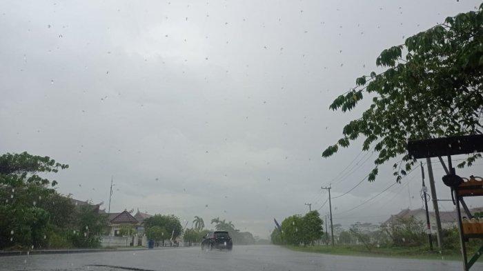 Prakiraan Cuaca Sabtu, 28 Agustus 2021,BMKG: Termasuk Kaltara, 20 Daerah Hujan Lebat Disertai Angin