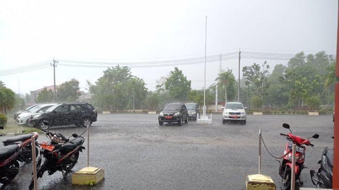 Prakiraan Cuaca Kaltara, Jumat 3 September 2021, BMKG: WaspadaHujan Lebat dan Petir di Nunukan