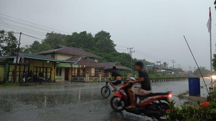 Prakiraan Cuaca di Kaltara Kamis 16 September 2021, Sore Ini Malinau Berpotensi Diguyur Hujan Ringan
