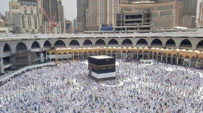 Ibadah Haji. (Tribunnews.com/Muhammad Husain Sanusi)