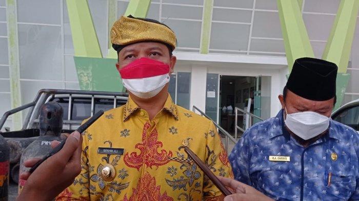 Soal Pelayanan PDAM di Kabupaten Tana Tidung, Bupati Ibrahim Ali: Kita Lagi Melakukan RISPAM