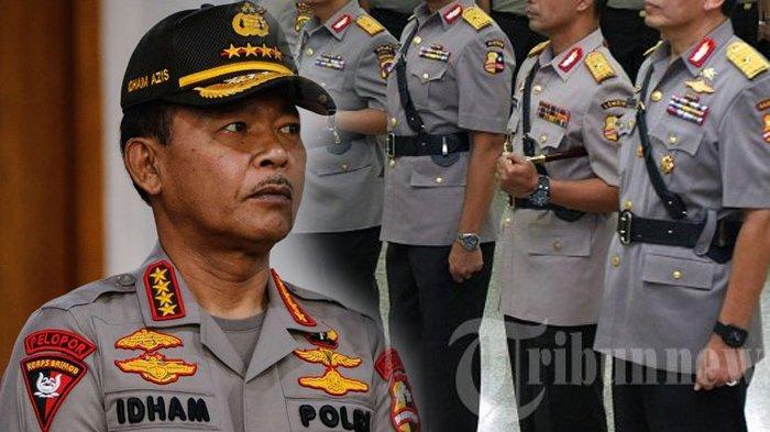 Detik-detik Kapolri Jenderal Idham Azis Beri Pelajaran ke Polisi saat Dampingi Anak Buahnya ke DPR