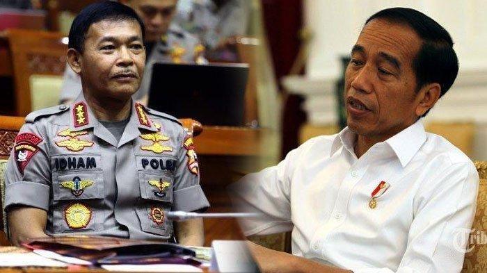 Jelang Pensiun, Idham Azis Surati Presiden untuk Dicarikan Pengganti, Siapa Kapolri Pilihan Jokowi?