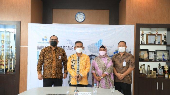 Kegiatan RUPS Bankaltimtara dihadiri Wali Kota Tarakan dr Khairul, MKed di gedung Bankaltimtara Cabang Tarakan, Kamis (8/4/2021).