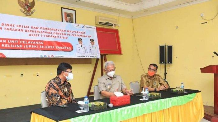 Wakil Wali Kota Tarakan Beri Pesan Semangat kepada Peserta Pelatihan Rehabilitasi Sosial Dasar