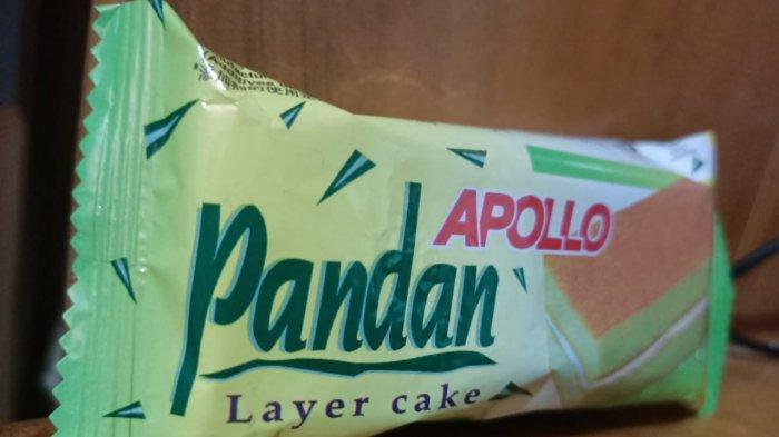 Ilustrasi cake pandan merek Apollo. Pelaku diciduk di Bandar Udara Juwata Tarakan karena membawa sabu dengan modus dikemas dalam cake pandan merek Apollo