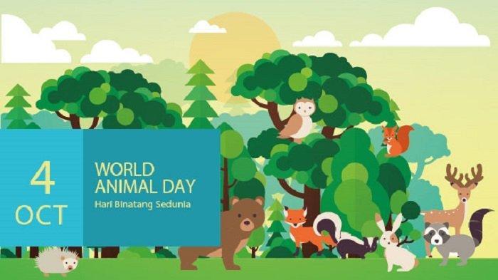 Sejarah Hari Binatang Sedunia atau World Animal Day, Diperingati pada 4 Oktober Setiap Tahunnya