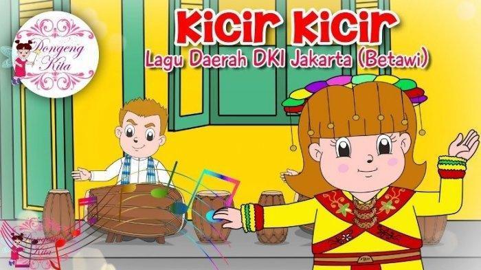 Contoh Pantun yang Ada di Dalam Lagu Kicir-kicir, Lagu Daerah DKI Jakarta Ini Ternyata Berisi Pantun