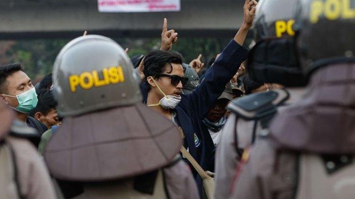 Waspada Penyusup saat Demonstrasi Tolak UU Cipta Kerja Hari Ini, Berikut Imbauan Polri