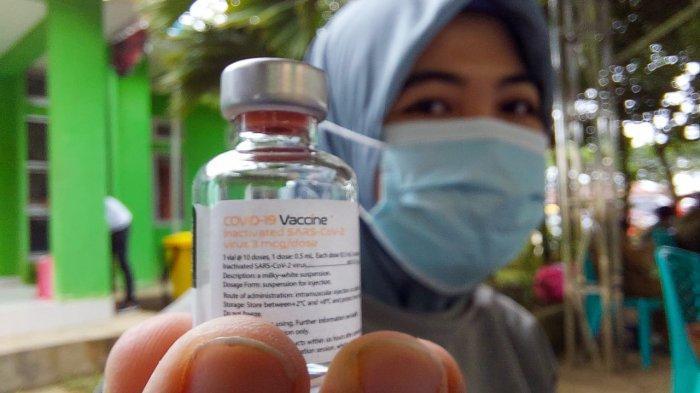 Ilustrasi - vaksin Covid-19. ( TRIBUNKALTARA.COM / SYIFA'UL MIRFAQO )