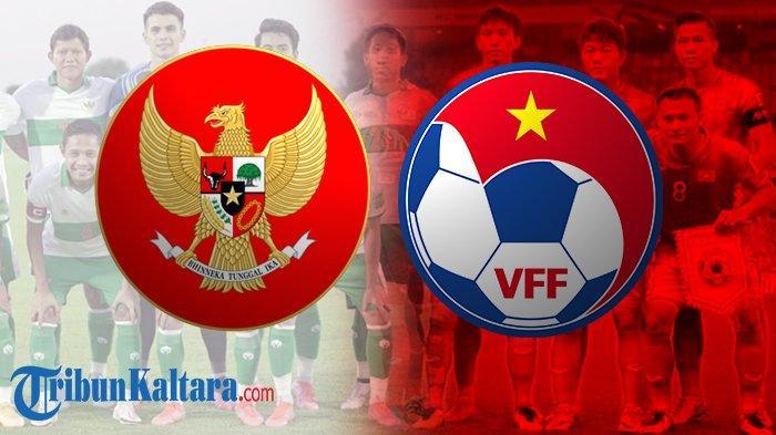 Jadwal Live Streaming Timnas Indonesia vs Vietnam di SCTV Pukul 23.45 Wib, Adu Taktik Pelatih Korea