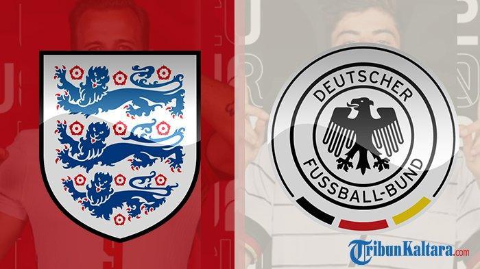 Siaran Langsung Inggris vs Jerman Euro 2020, Tayang Live Streaming di Mola TV Pukul 23.00 Wib