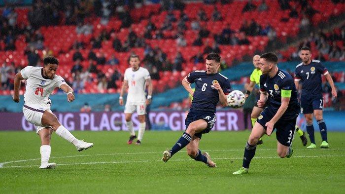 Hasil Euro 2020, Inggris Ditahan Imbang Skotlandia 0-0, Bagaimana Peluang Lolos The Three Lions?