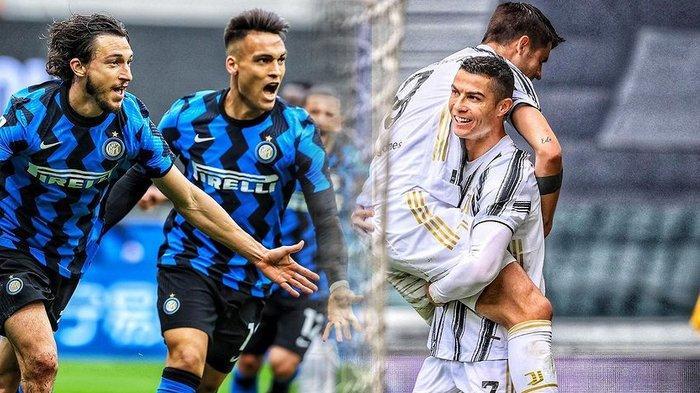 Klasemen Liga Italia, Inter Milan Tatap Scudetto, AC Milan Diancam Juventus dan Atalanta