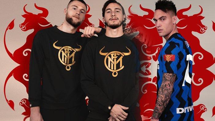 Gebrakan Inter Milan di Liga Italia Sambut Tahun Baru Imlek, Logo Spesial Bertanduk dan Jersey Hanzi