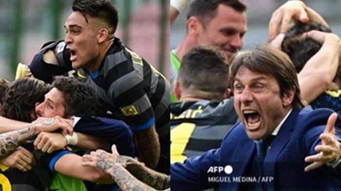 Inter Milan Raih Scudetto Serie A, Conte Bongkar Kunci Moncernya Internazionale, Singgung AC Milan