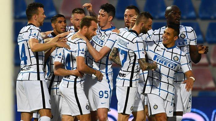 Hasil Liga Italia, Eriksen dan Hakimi Gemilang, Kepastian Scudetto Inter Milan Ditentukan Atalanta