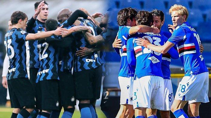 Live Streaming Inter Milan vs Sampdoria di beIN Sports, Pesta Scudetto di San Siro, Lukaku Istirahat