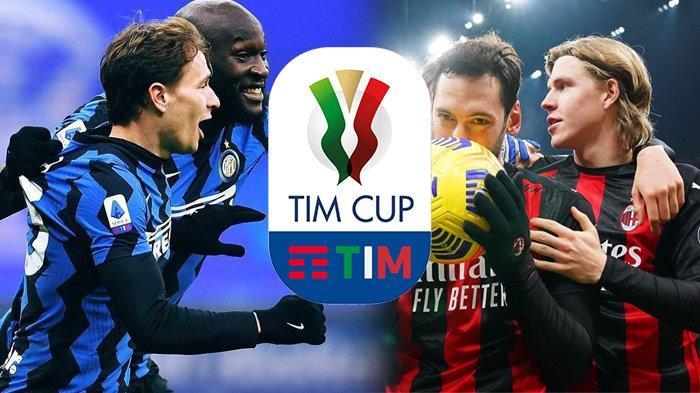 Prediksi Inter Milan vs AC Milan Coppa Italia, Live Streaming di TVRI Tayang Pukul 02.45 WIB