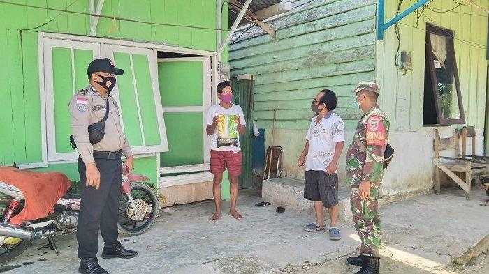 Dukung Warga Isoman, Kodim 0907 Tarakan Kembali Distribusi Sembako dan Sterilisasi Lingkungan
