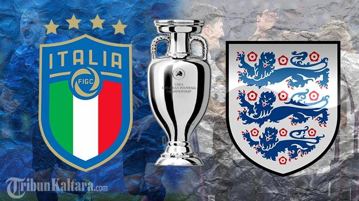 Siaran Langsung Italia vs Inggris Final Euro 2020, Live Streaming Mola TV dan RCTI, Skor 0-0