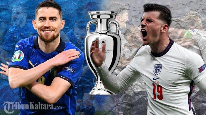 Live Streaming Italia vs Inggris Final Euro 2020, Duel Bintang Chelsea di Mola TV Pukul 02.00 Wib