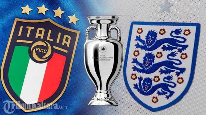 Jadwal Italia vs Inggris Final Euro 2021, The Three Lions Dihantui Nasib Brasil di Copa America
