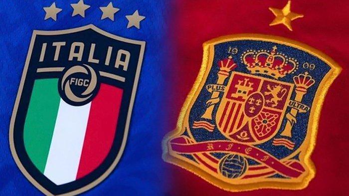Siaran Langsung Italia vs Spanyol Euro 2020, Live Streaming di Mola TV dan RCTI Pukul 02.00 Wib