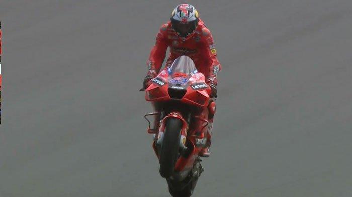 Hasil MotoGP Prancis 2021, Ducati Berjaya di Trek Basah, Jack Miller Podium Pertama, Quartararo ke-3
