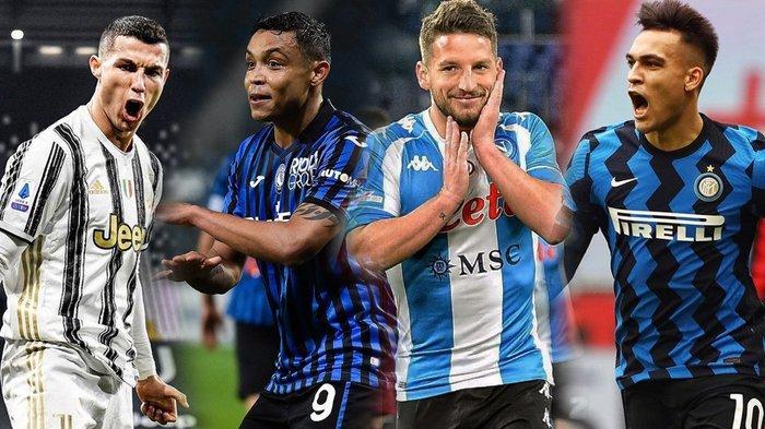 Jadwal Liga Italia, Big Match Atalanta vs Juventus, Napoli vs Inter Milan, AC Milan Ladeni Genoa