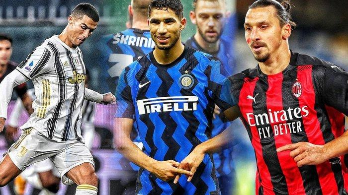 Jadwal Liga Italia, Inter dan AC Milan Saling Kejar, Juventus vs Sassuolo, Pioli tak Mau Kalah Lagi