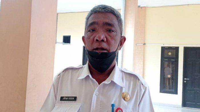 Kepala Dinas Pendidikan Kabupaten Tana Tidung, Jafar Sidik saat ditemui di Kantor Dinas Pendidikan Tana Tidung, Kamis (16/9/2021) (