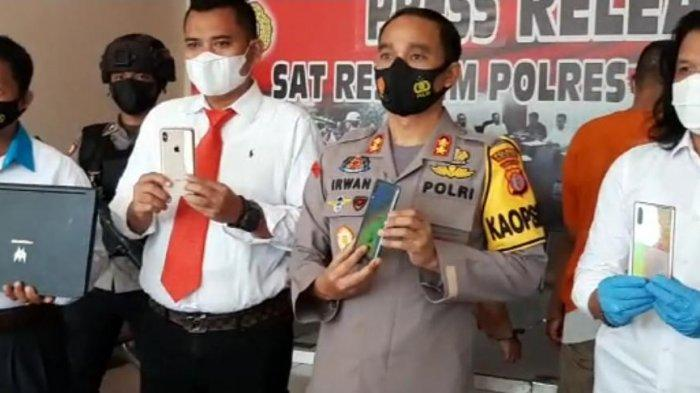 Polres Kubar Bongkar Kasus Pemalsuan Dokumen Rapid Test Atigen di Kutai Barat, Pelakunya Pasutri