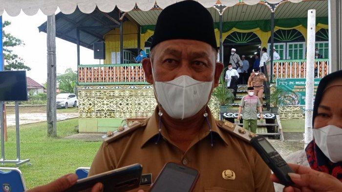 Wakil Bupati Malinau, Jakaria saat ditemui seusai membuka MTQ Ke-17 di Balai Adat Tidung, Desa Malinau Seberang, Kecamatan Malinau Utara, Kabupaten Malinau, Provinsi Kalimantan Utara, Senin (7/6/2021)