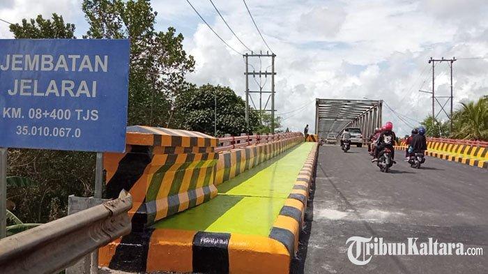 Akhirnya Jembatan Jelarai Tanjung Selor Resmi Dibuka, Semua Kendaraan Bisa Melintas