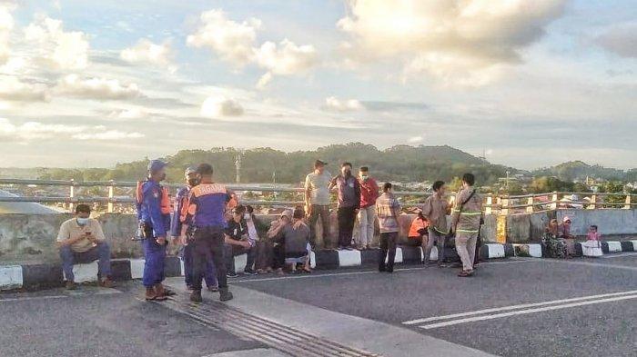 Seorang Pemuda Lompat dari Atas Jembatan Mahkota II Samarinda, Ini Ucapan Terakhir ke Ibundanya