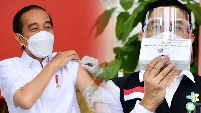 Heboh Vaksin Sinovac yang Disuntikkan ke Presiden Jokowi Tak Berhasil, Satgas Covid-19 Beri Jawaban