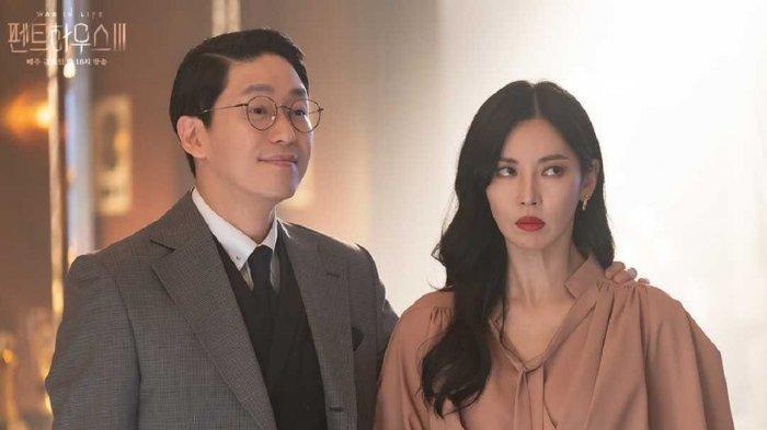 Joo Dan Tae dan Cheon Seo Jin di The Penthouse 3.