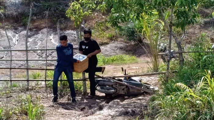 Grebek Lokasi Judi Sabung Ayam, Polisi Polres Nunukan Lepaskan Tembakan,Para Pemain Berlarian