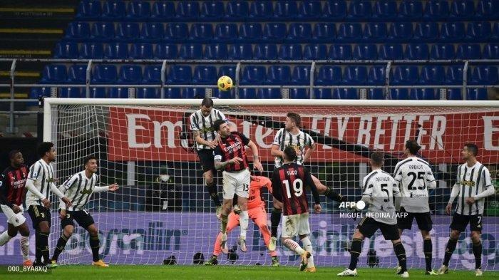 Persaingan Menuju Liga Champions di Liga Italia Makin Panas, Duel Juventus vs AC Milan Jadi Penentu