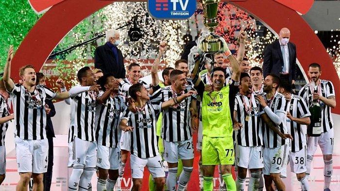 Juventus Juara Coppa Italia ke-14, Tundukkan Atalanta 2-1, Buffon Cetak Sejarah Penting