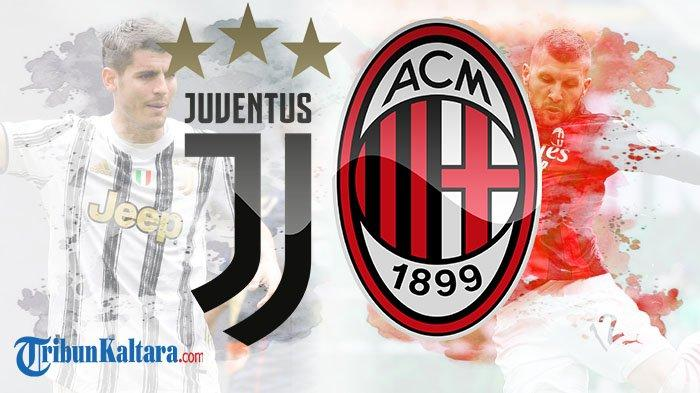 Live Streaming Juventus vs AC Milan, Big Match Liga Italia Pukul 01.45 Wib Tayang di beIN Sports