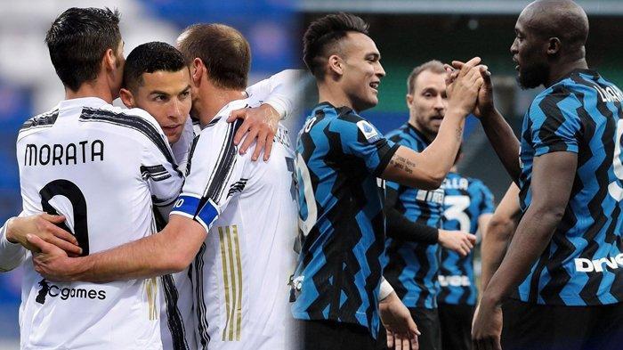 Klasemen Liga Italia, Juventus Angkat Bendera Putih, Inter Milan Enggan Terlena Tatap Scudetto